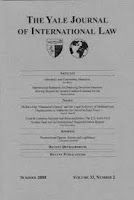 New Issue: Yale Journal of International Law