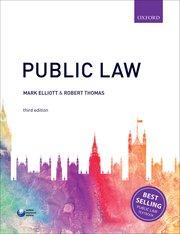 Public Law Author: Mark Elliott and Robert Thomas ISBN: 9780198765899