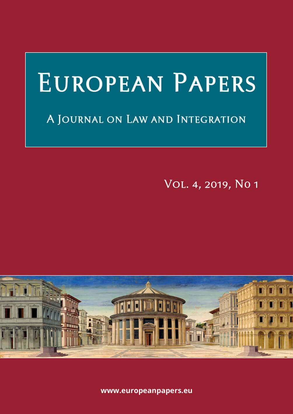 European Papers - Vol. 4, 2019, No 1