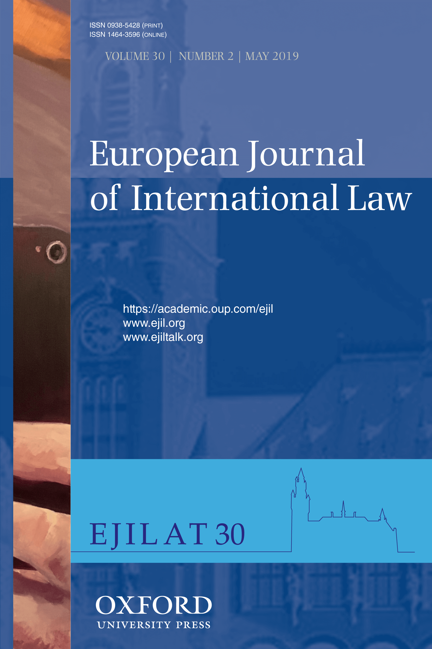European Journal of International Law - Volume 30, Issue 2, May 2019