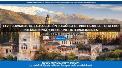 """XXVIII Jornadas """"Nuevo mundo, nueva Europa. La redefinición de la Unión Europea en la era del Brexit"""""""